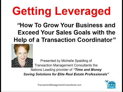 How to double or triple your real estate business with the help of a transaction coordinator