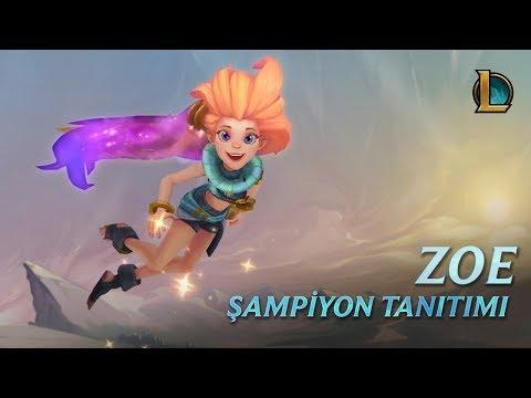 Zoe Şampiyon Tanıtımı | Oynanış - League Of Legends