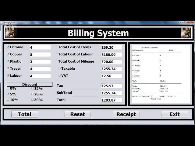 How to Create an Object Oriented Advanced Billing System Project in Java NetBeans Full Tutorial