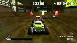 Monster 4x4: Stunt Racer Nintendo Wii Gameplay - Weapon