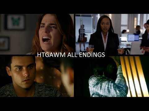 Download How To Get Away With Murder Season 4 ALL Endings [First Half]