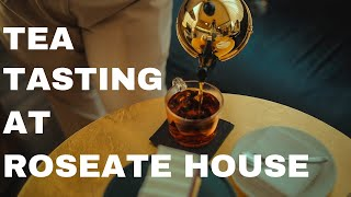 Tea Tasting at Roseate House | Roasted by Roseate | Cinematic Tea Video | Sahil Taksh