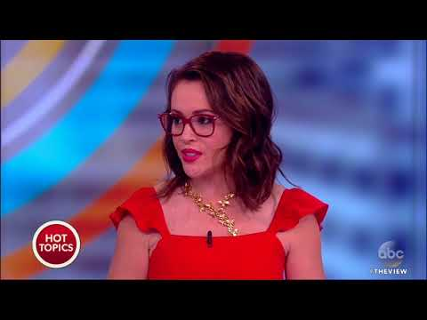Alyssa Milano On Being A Leader Of #MeToo Movement  The View