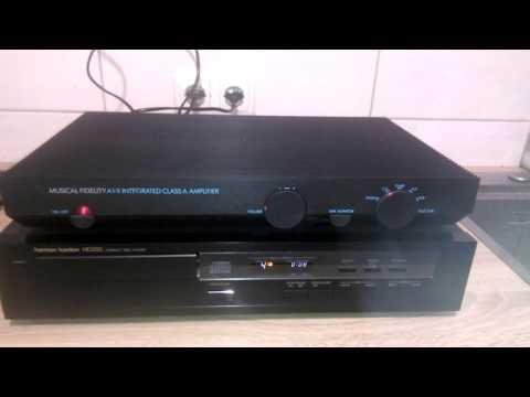 Musical Fidelity A1-X Amplifier & Harman Kardon CD-Player HD200
