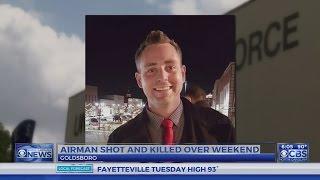 Seymour Johnson AFB airman shot to death in Goldsboro Sunday morning