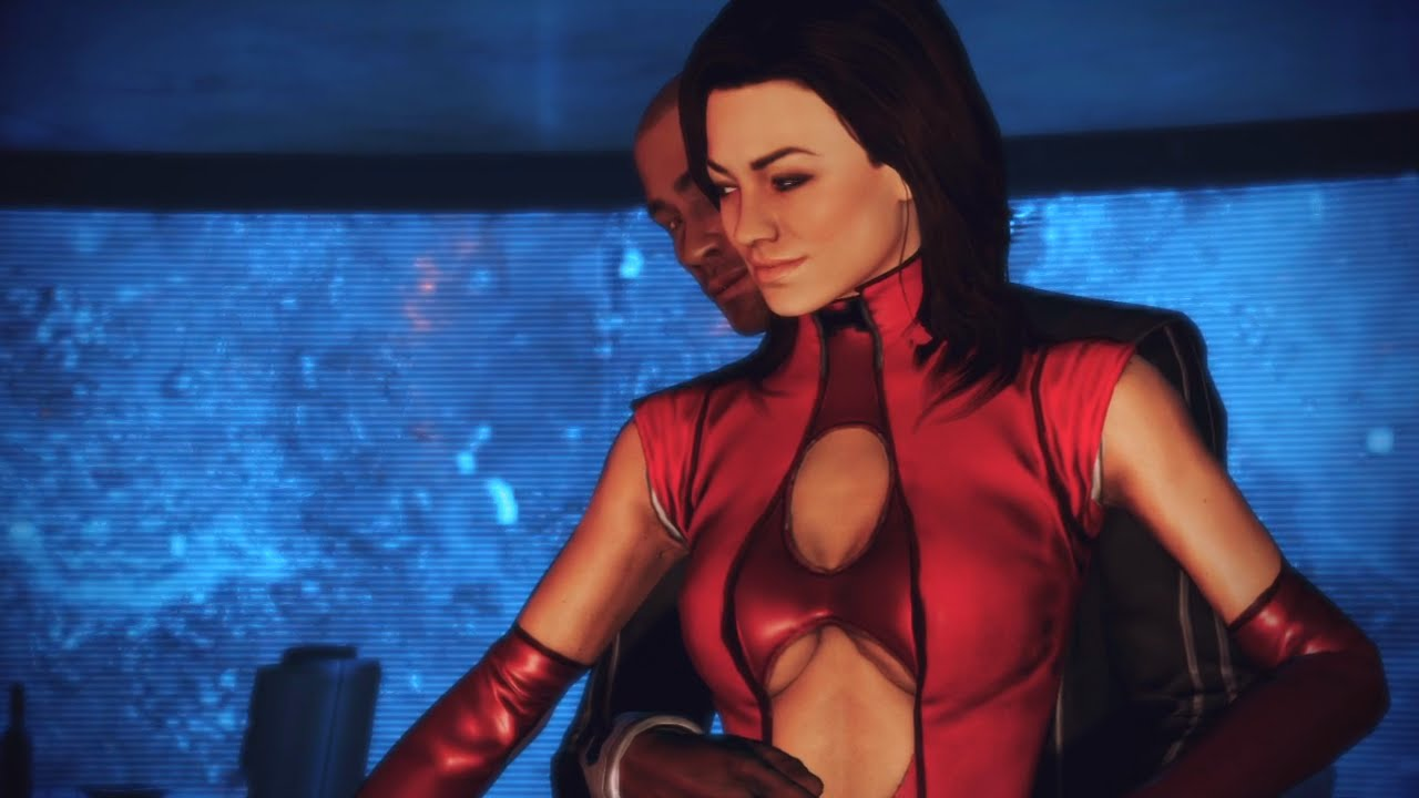 3d miranda lawson hot dancing mass effect - 1 part 3