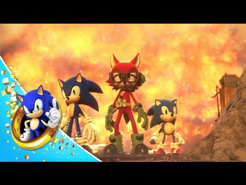Sonic Forces: Custom Hero Trailer