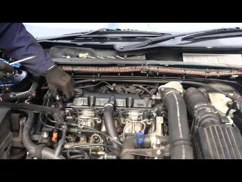 Rocker cover gasket replacement - Peugeot 406 2.0 HDi 110