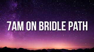 Drake - 7AM On Bridle Path (Lyrics)