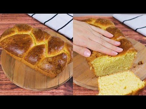Brioche bread fluffy and perfect for any occasion