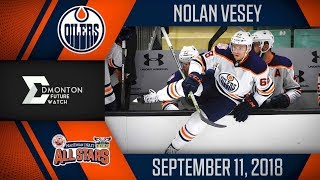 Nolan Vesey | One Assist vs MacEwan Nait | Sep. 11, 2018