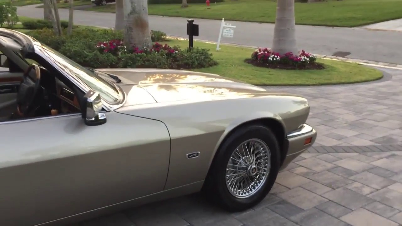1996 Jaguar XJS Convertible Review And Test Drive By Bill   Auto Europa  Naples