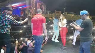 La insuperable cantando Salao en San Cristóbal