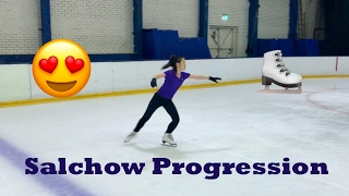 Adult Figure Skating Journey - Salchow Progression