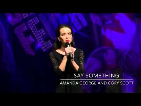 Say Something Amanda George And Cory Scott