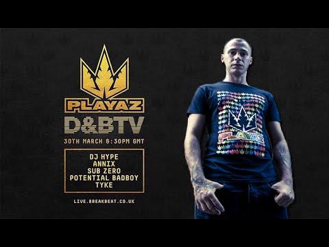 Tyke & MC Carasel - PLAYAZ on D&BTV @ LIVE 30.03.2016