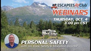 Personal Safety for RVers w/Jim Koca (Webinar #22)