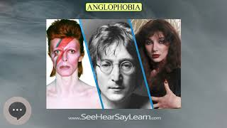 Anglophobia | Phobias, Fears, and Anxieties 😲😱🤪