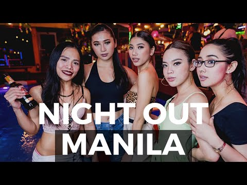 MANILA PHILIPPINES NIGHT LIFE! Makati and P.Burgos 🇵🇭
