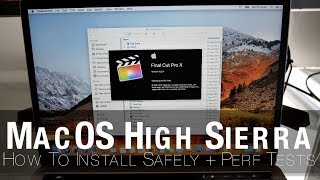 How to Install new macOS Beta Safely on Separate Partition & High Sierra Performance Tests