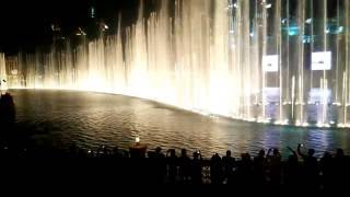 Dubai fountain- Burj Khalifa