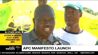 Themba Godi says APC party will improve the provision of basic services thumbnail