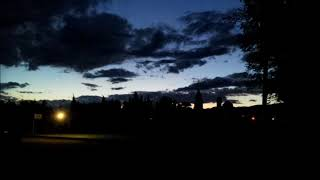 A time lapse sunset view of camping Garriguella from camping Vell Emporda 10 8 2017