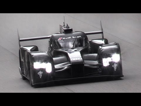 2016 Audi R18 LMP1 Spied Testing At Monza Circuit!!