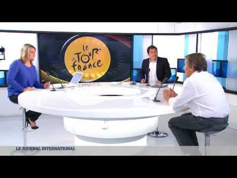 Sport: Le Tour de France vu par José Alain Fralon...