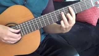 "Guitar Tutorial: ""Ikaw ang Aking Mahal"" by VST & Co.- Fingerstyle Tutorial Cover (Free Tabs)"
