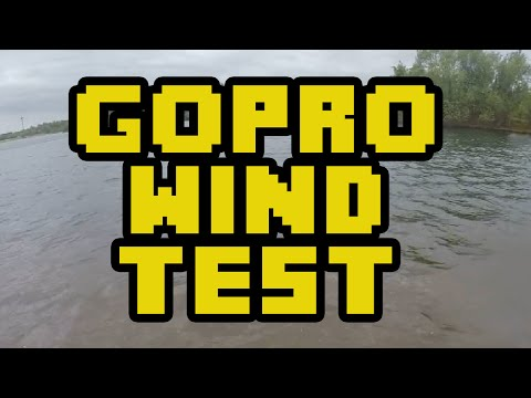 GoPro Hero 4 Silver Wind Noise Test - Skeleton Back Door & No Case Windy Environment Test 2015