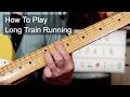 'Long Train Running' Doobie Brothers Guitar Lesson
