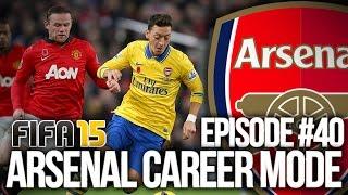 FIFA 15: ARSENAL CAREER MODE #40 - CL QUARTER FINALS!