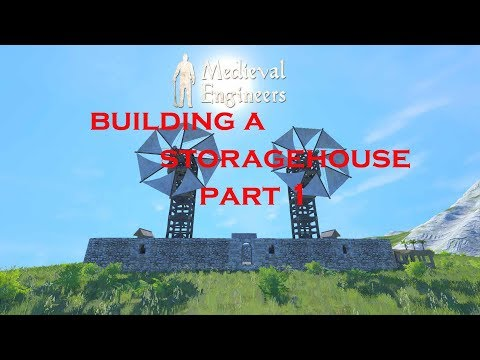 Medieval Engineers S2 E3 Building a Storage house Part 1