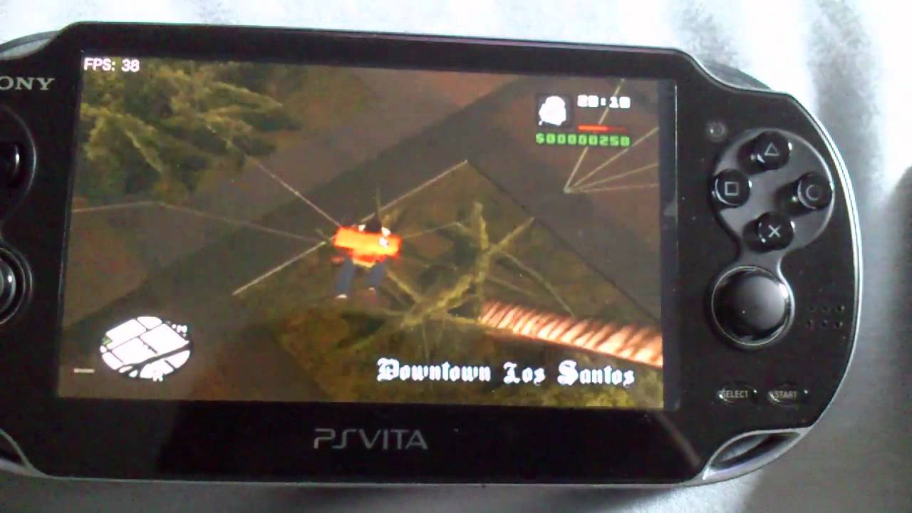Ps Vita Remote Play Pc Gta San Andreas Youtube