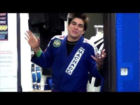 When Cleaning the Mats after Brazilian Jiu Jitsu Class | LiveTheMachLife