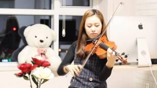 """[suzuki violin book.2]미뇽의가보트(Gavotte from """"Mignon"""" )"""