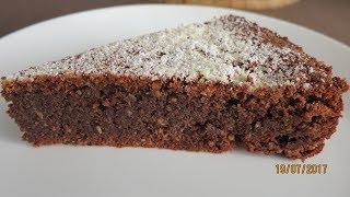 Nuss-Schoko-Kuchen ohne Mehl