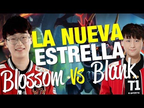 "EL NUEVO JUNGLA DE SKT T1 ""BLOSSOM"" SE ENFRENTA ANTE EL TITULAR! BLANK!"