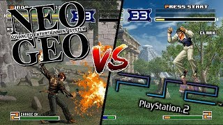 The King of Fighters 2003 - Neo Geo VS PlayStation 2