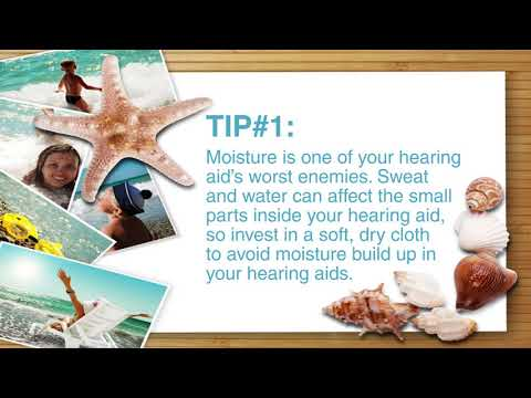 Tips for Taking Care of Hearing Aids in the Summer