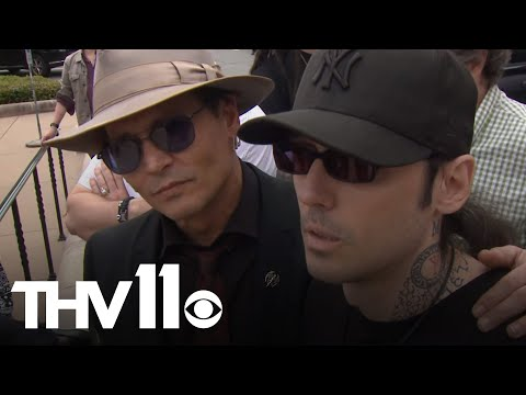 Damien Echols returns to Arkansas for 1st time since being released