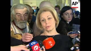 Tymoshenko bloc says it will appeal election result