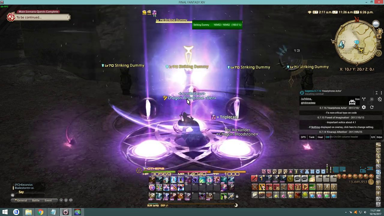 How to Install ACT Advanced Combat Tracker for FFXIV(Kagerou Theme Overlay)  Stormblood 4 1