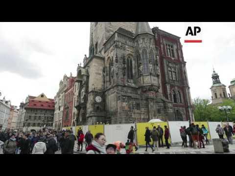 Prague's iconic clock closed for major repairs