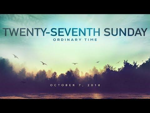 Weekly Catholic Gospel Reflection For October 7, 2018 | Twenty-Seventh Sunday of Ordinary Time