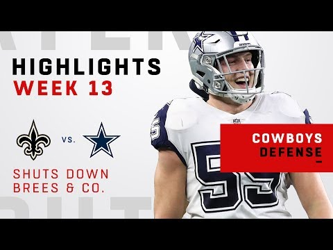 Cowboys Defense Puts a Brick Wall In Front of Brees & Co.