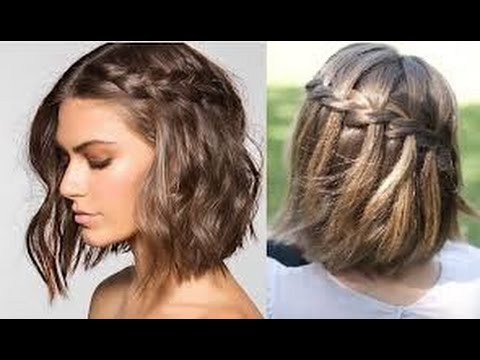 Peinados Para Cabello Corto Easy Hairstyles For Short Hair Youtube