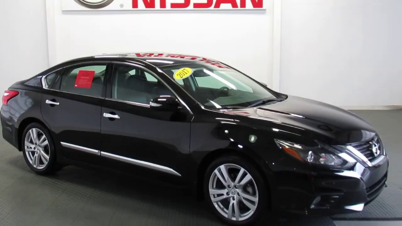 Superb P5328 V 2017 Nissan Altima 3.5 SL W/ Technology Pkg