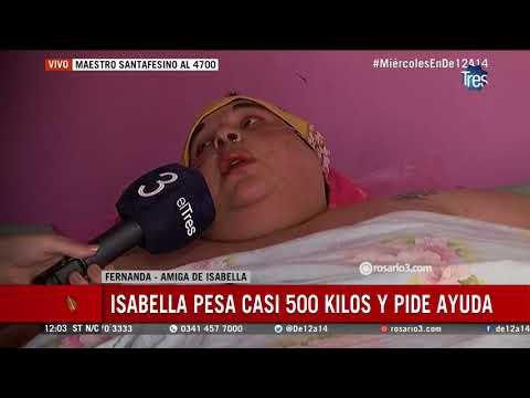 Isabella necesita ayuda para su traslado al hospital provincial